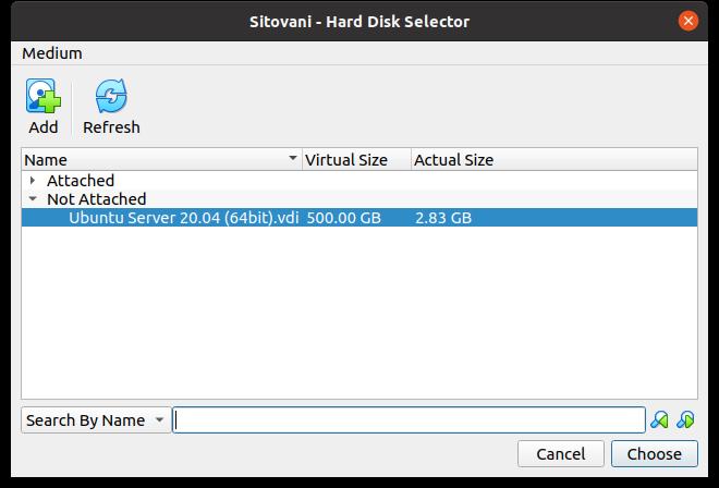 VirtualBox - VM image
