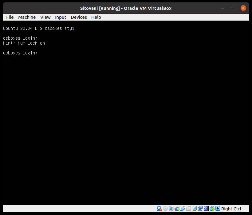 VirtualBox - new VM